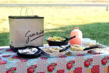Backyard Dinner Party With Romano's Macaroni Grill
