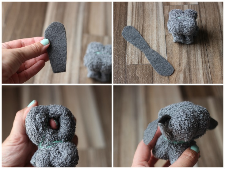 Turn a washcloth into a cozy little puppy friend with this simple no-sew project for kids! Make a few of them to give as gifts. Kids LOVE these little wash cloth puppies. They are so easy to make and are so cute. Decorate with eyes, a ribbon collar, and make the puppy out of any color of washcloth that you'd like!