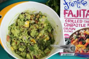 Corn & Black Bean Guacamole