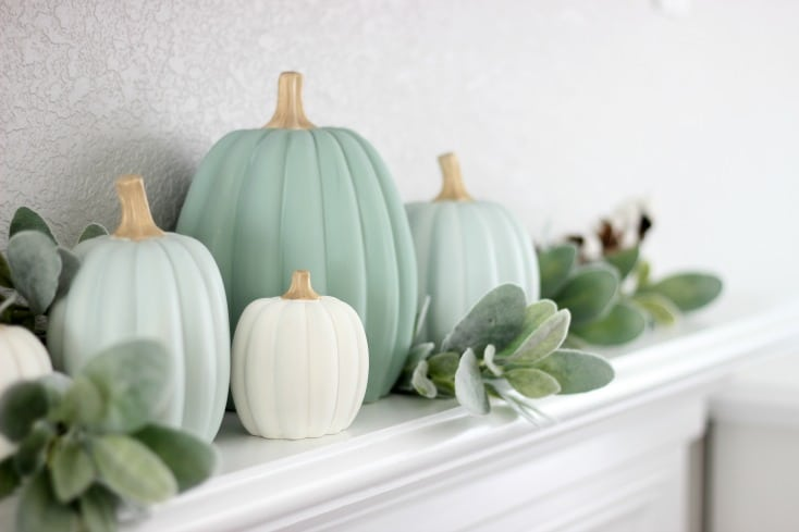 make your own painted pumpkins gluesticks