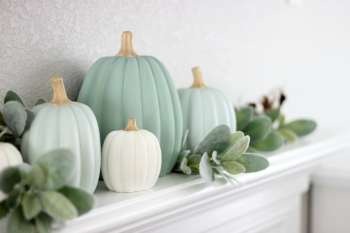 Make Your Own Painted Pumpkins
