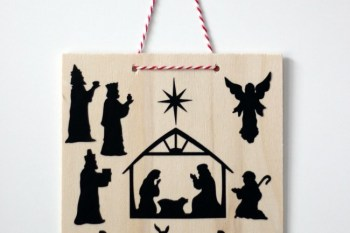Nativity Wall Hanging Activity for Kids