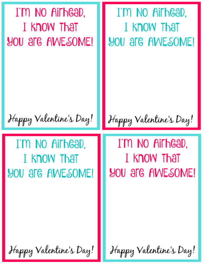 Valentine's Day will soon be here. Here are two free printable Valentines to use for your child's class this year!