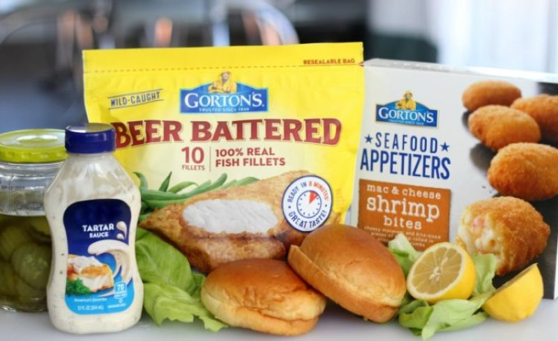 Mix up dinner with a delicious fish fillet sandwich. Family friendly, low fat, crispy and delicious! The perfect weeknight meal!