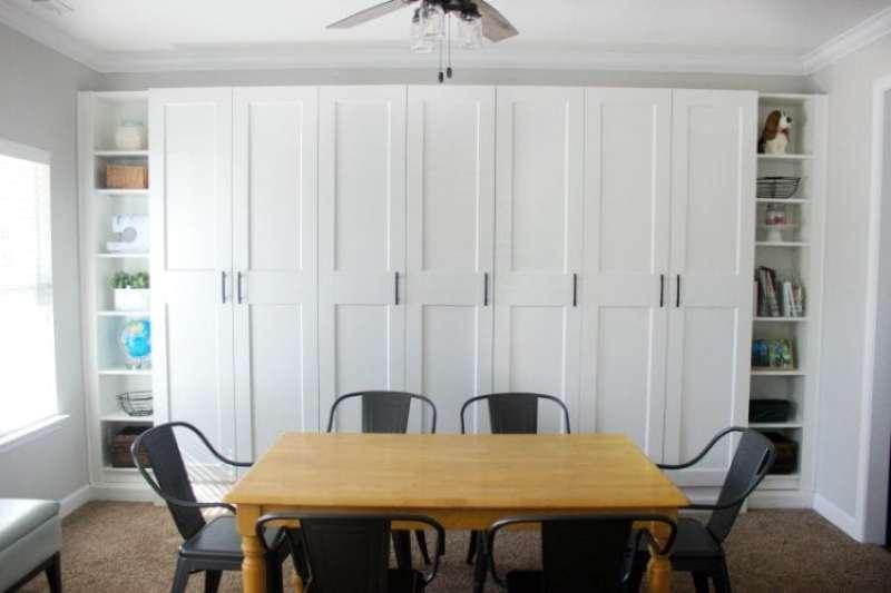 IKEA built in storage