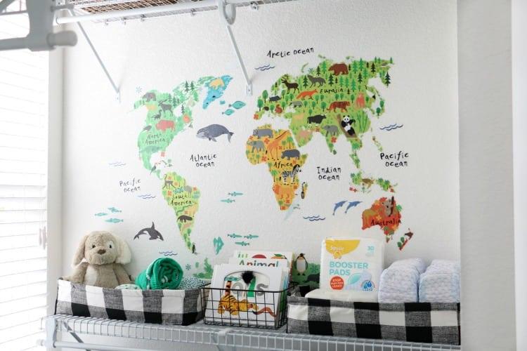 Diy Fabric Baskets For Diaper Toy Storage Gluesticks