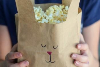 Peter Rabbit Movie Night Popcorn Bags