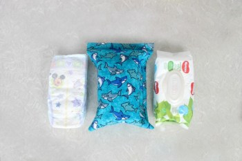 Diaper Changing Pouch Tutorial & Baby Gift Idea