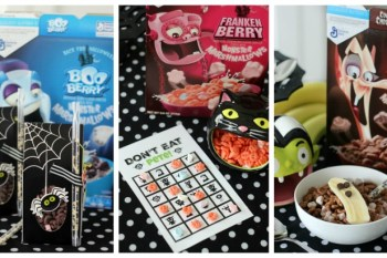 Not-So-Spooky Halloween Party Ideas: Using Cereal!
