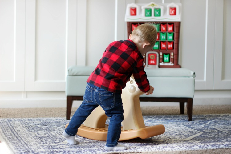 his darling Step2Rudolph the Rocking Reindeeris just right for imaginative play this holiday season. Win one for the toddler in your home by leaving a comment!