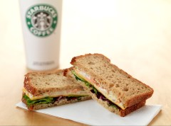 Gluten free sandwich from Starbucks