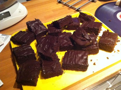 photo of our gluten free brownies