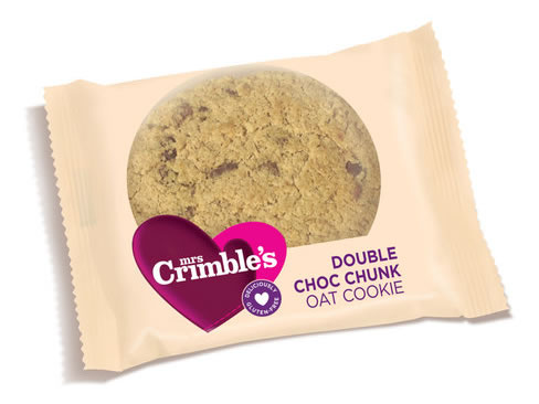 Mrs Crimble's Double Choc Chunk Oat Cookie