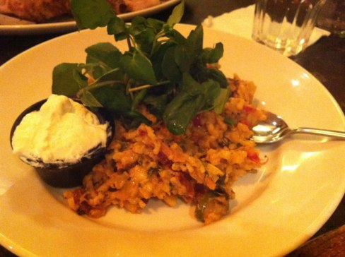 Frankie & Benny's vegetarian risotto