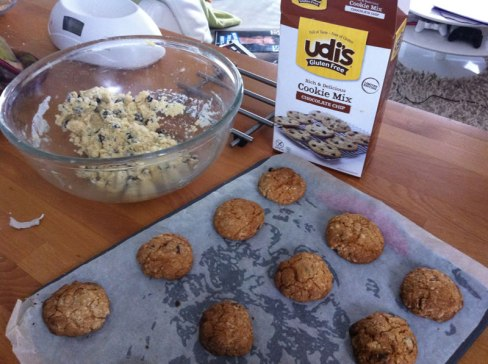 Udi's Gluten Free Chocolate Chip Cookie Mix