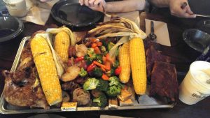 The Great Feast at The Three Broomsticks gluten free