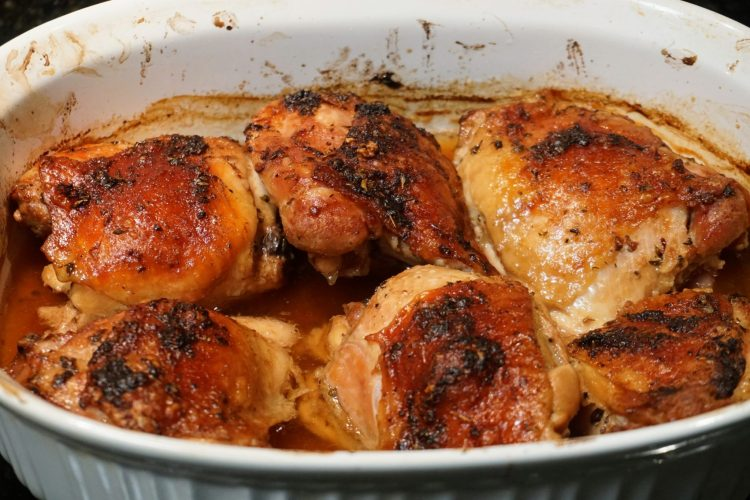 Butter and Soy Sauce Roasted Chicken Gluten Free