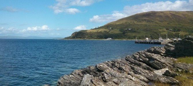 Gluten free travel: Isle of Arran, Scotland