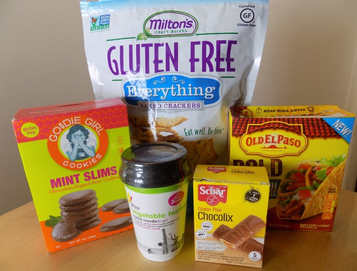 gluten free foods, ingredient information