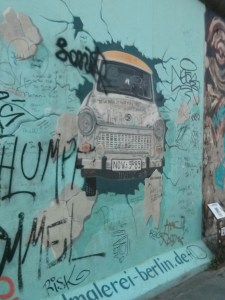 East Side Gallery mural, gluten free Berlin
