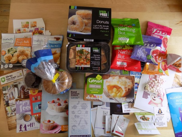 I visited the Glasgow Allergy Show. These are the great gluten free brands and products I discovered!