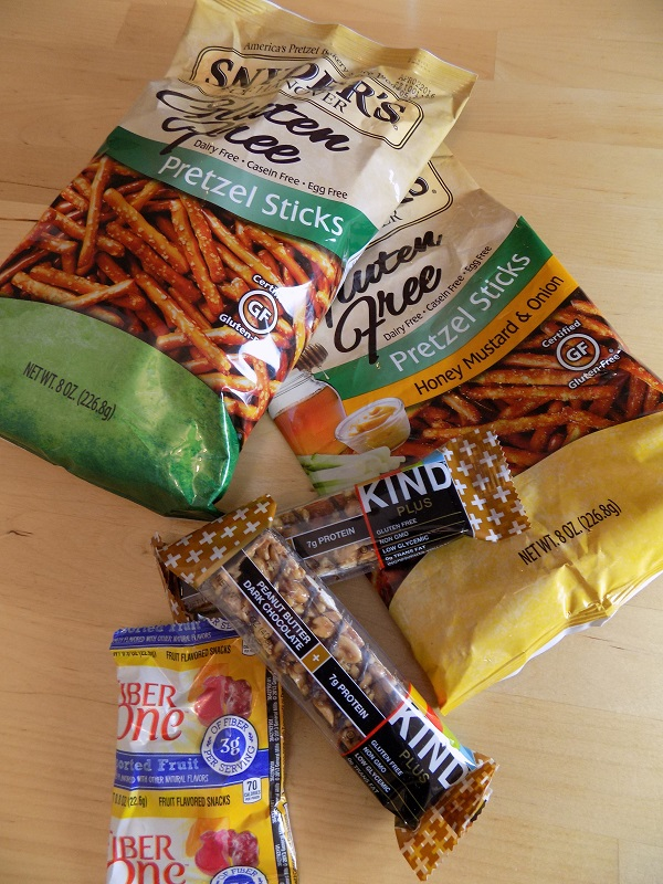 A review of some of my favorite gluten free snacks.