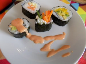 Learn to make your own gluten free sushi, with lots of vegetarian recipes!