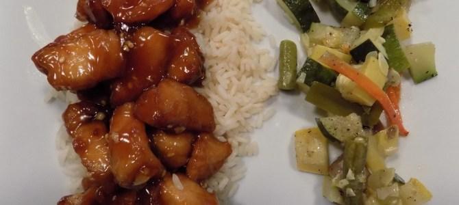 Gluten free sesame chicken