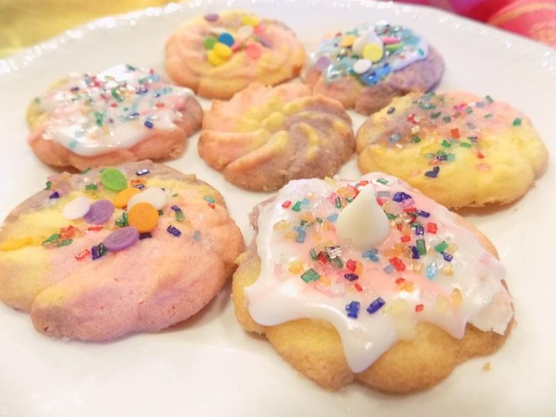 Unicorn Gluten Free Spritz Cookies Gluten Free Fab Life