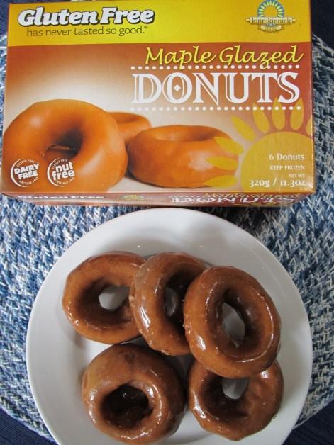Maple Glazed Gluten Free Dairy Free Donuts