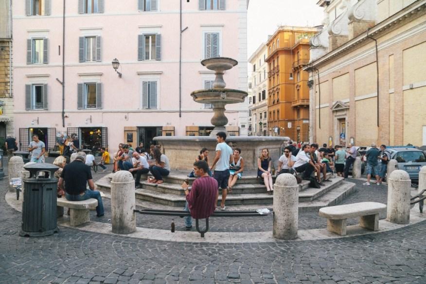 piazza life