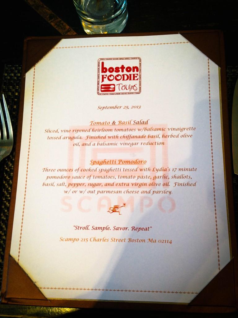 Boston- foodie tours