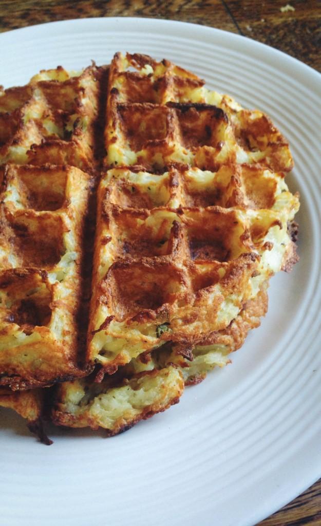 cookbook- hash brown waffles