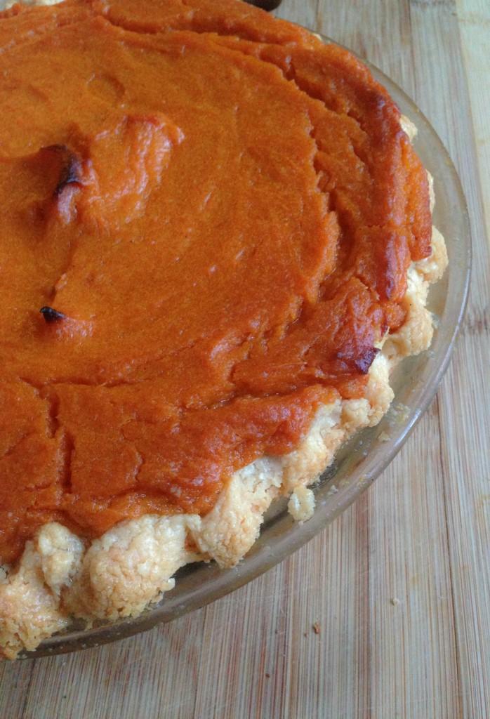 cookbook- sweet potato pie