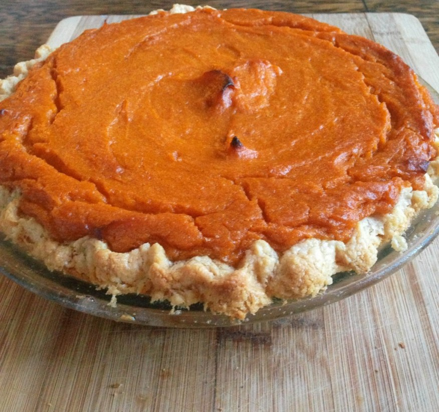 sweet potato pie_