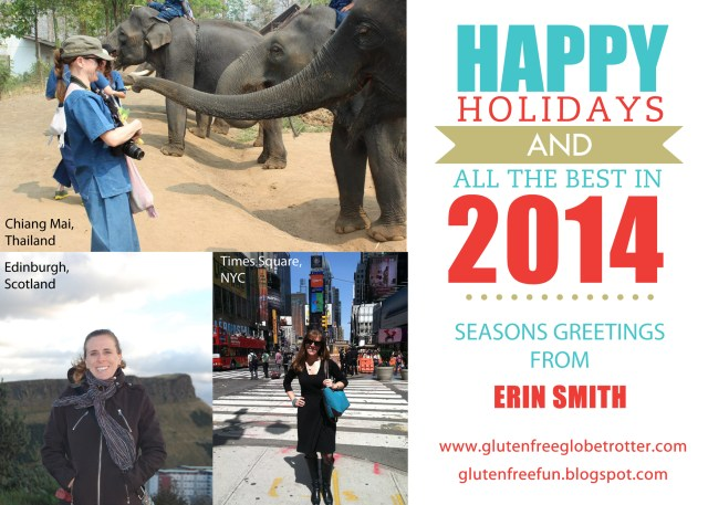 Happy Holidays from Gluten-Free Globetrotter