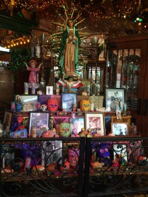 A colorful shrine