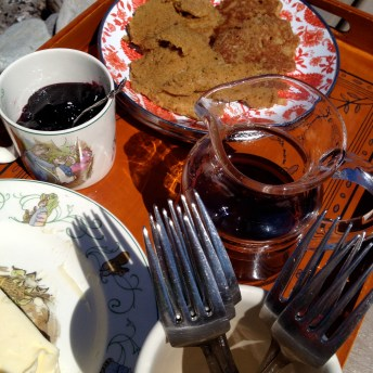 Jam and syrup ready to go