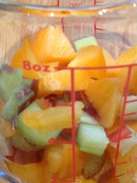 Pretty diced fruit!