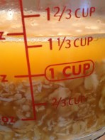 The oats will absorb all the liquid