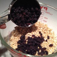 Use soaked rolled oats, not groats