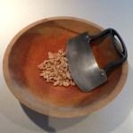 Peanuts ready to chop