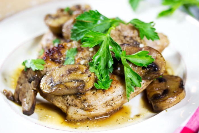 Gluten Free Pork Marsala