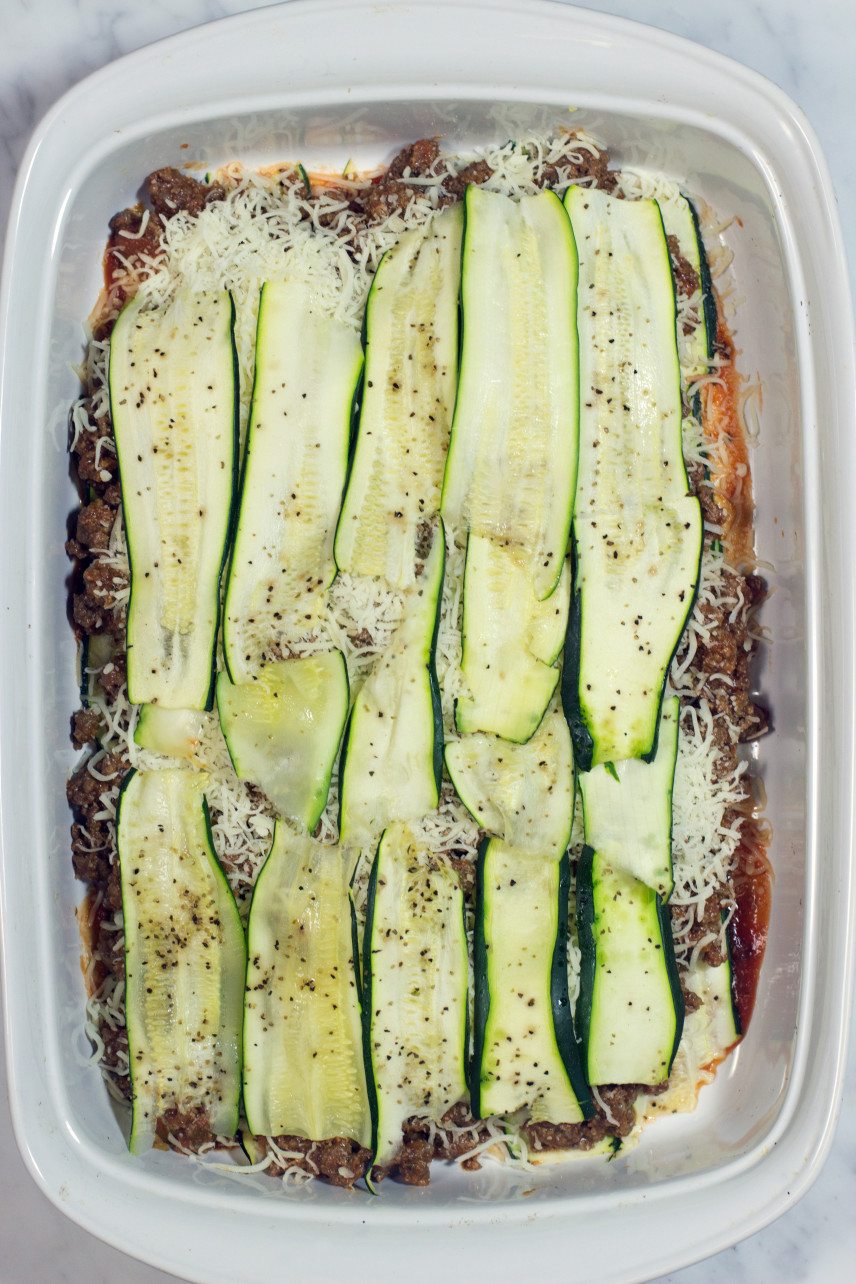 Adding another layer of zucchini to casserole
