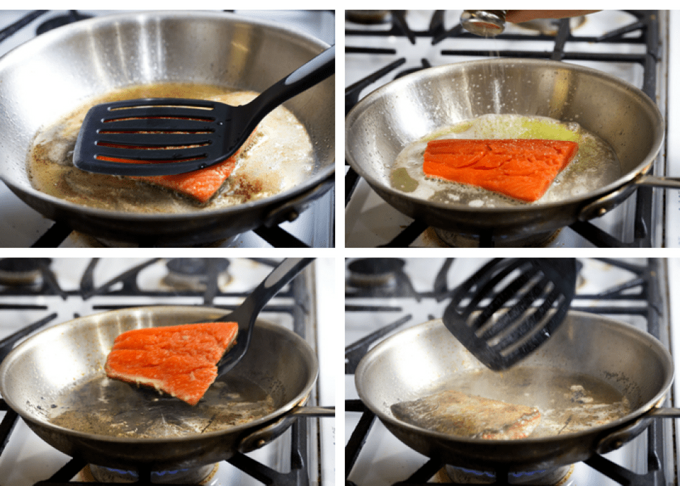 How to make pan-seared keto low-carb salmon