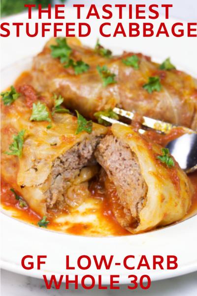 Tastiest Low-Carb Keto Stuffed Cabbage