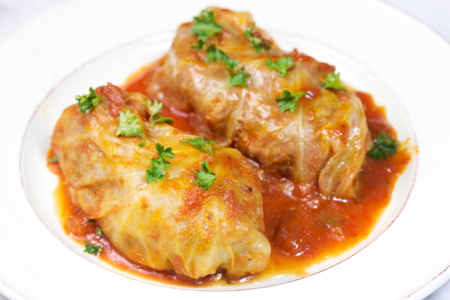 Stuffed cabbage is one of our tasty ground beef recipes