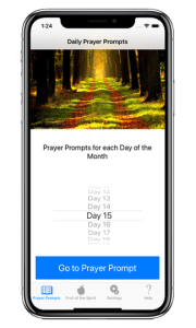 iPhone prayer app