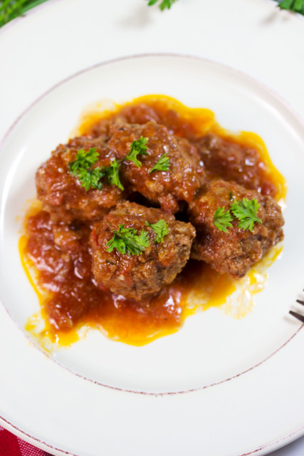 low-carb meatballs
