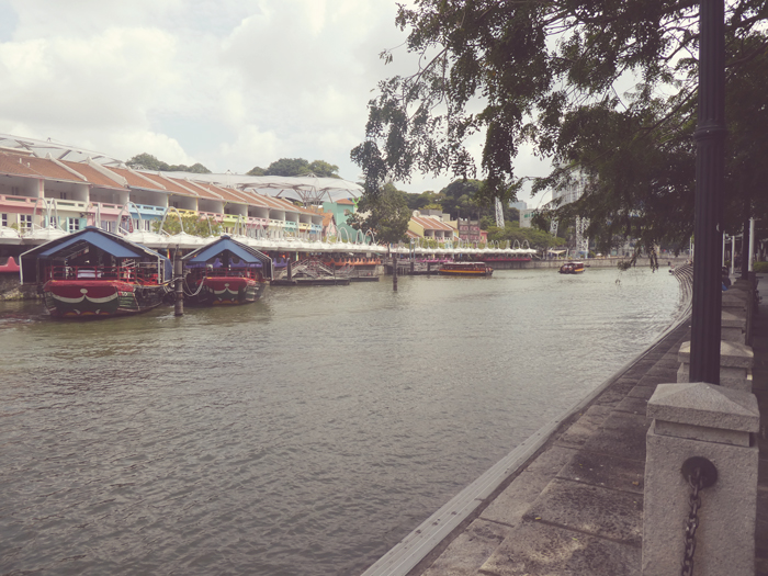 Clarke Quay in Singapore - a recommendation of something to do on your 3 days in Singapore